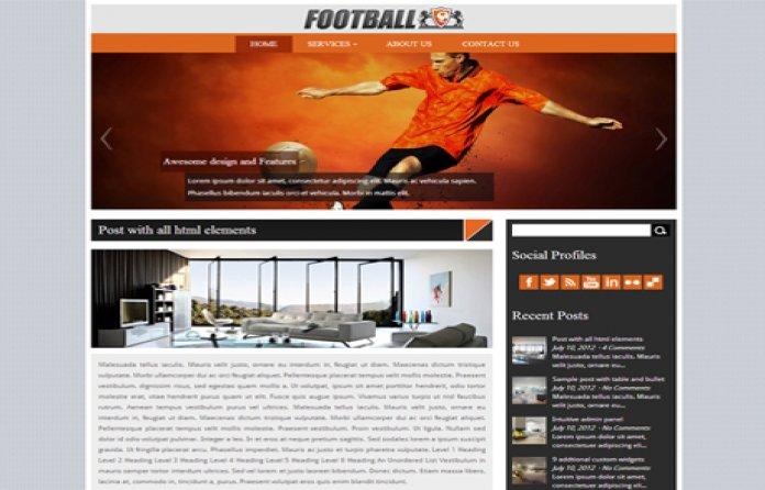 Football WordPress Theme