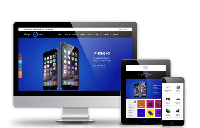 Gadgets Store - Virtuemart Joomla template