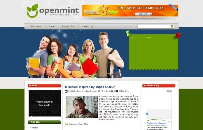 Best free joomla 3. 1 templates | joomlatemplates. Me.