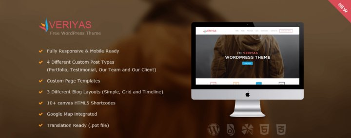 Veriyas - Business WordPress Theme
