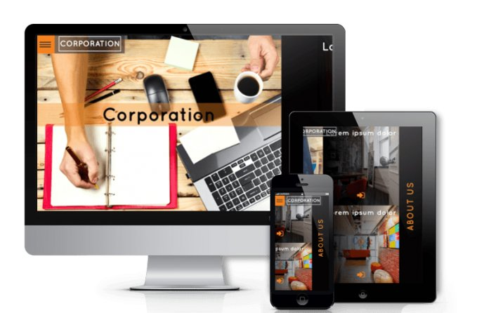Corporation - Creative WordPress theme