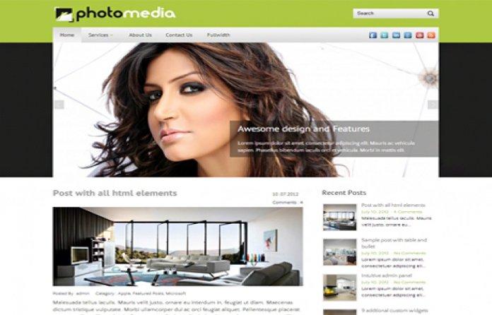 PhotoMedia WP Theme