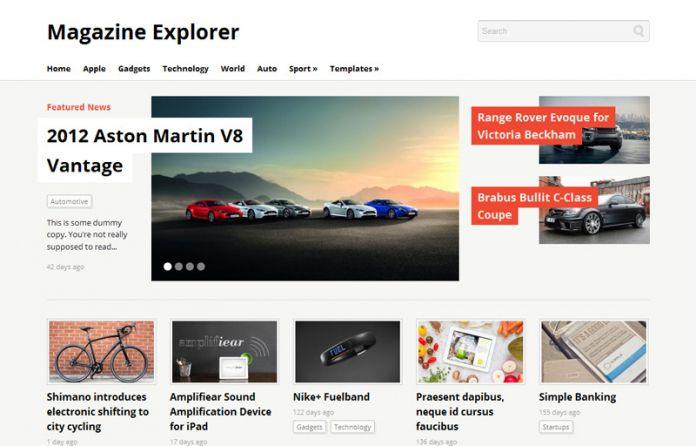 Magazine-Explorer