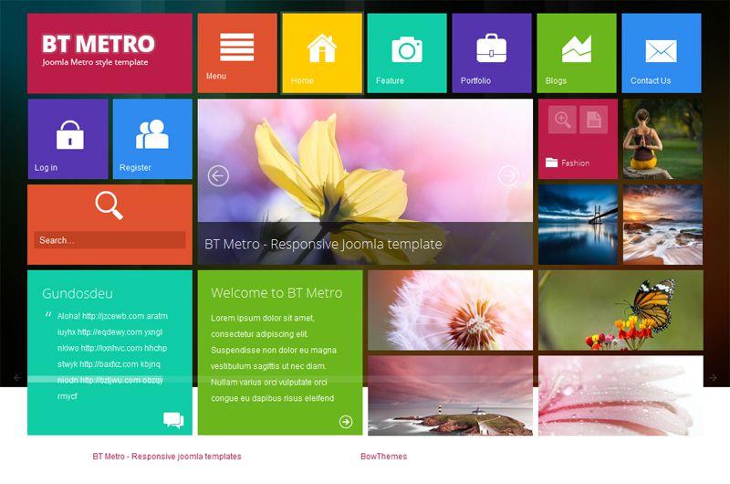 BT Metro - Templates - cmsgadget.com - Free and Premium Wordpress ...