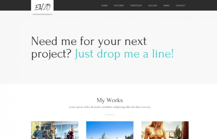 Enzo - Business Portfolio WordPress Theme