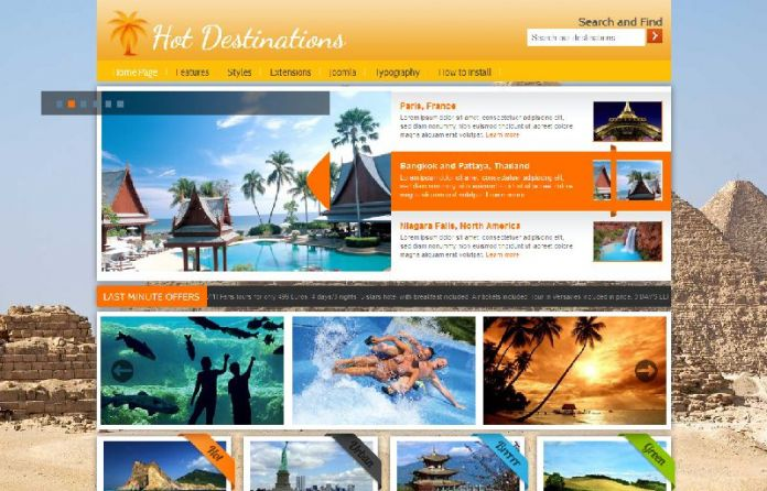 Hot Destinations