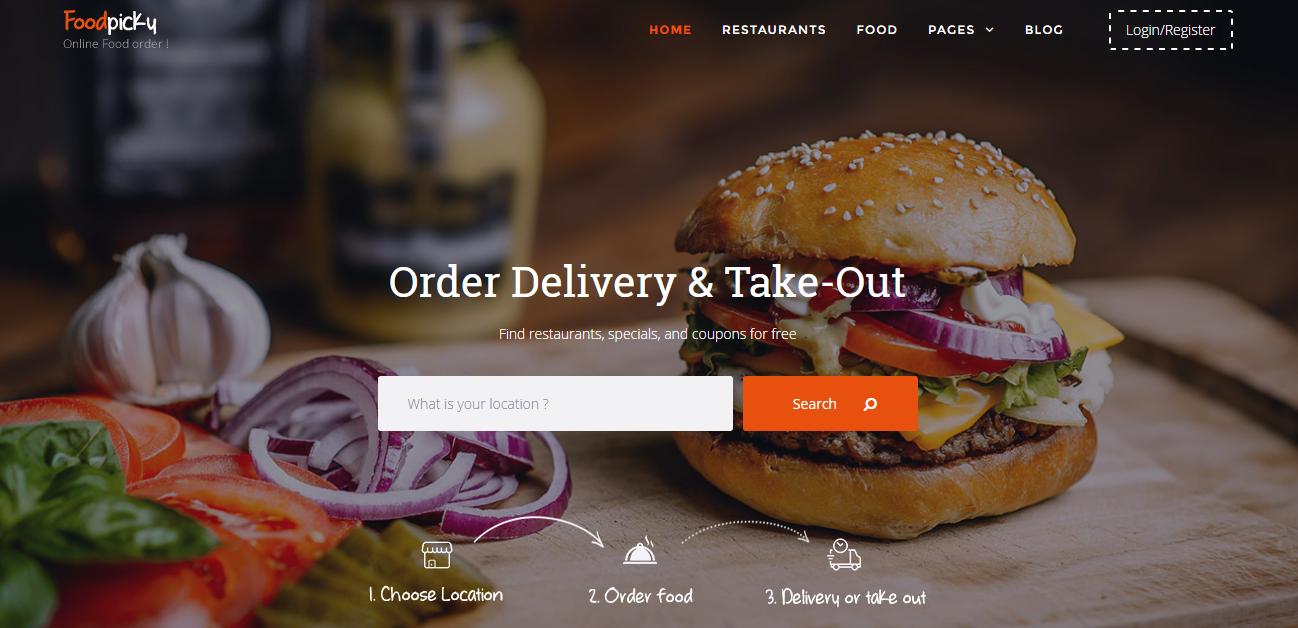 FoodPicky - Templates - cmsgadget com - Free and Premium