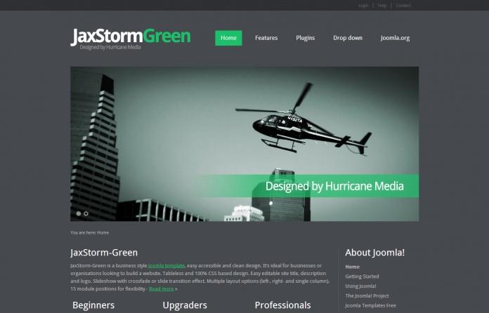 JaxStorm Green
