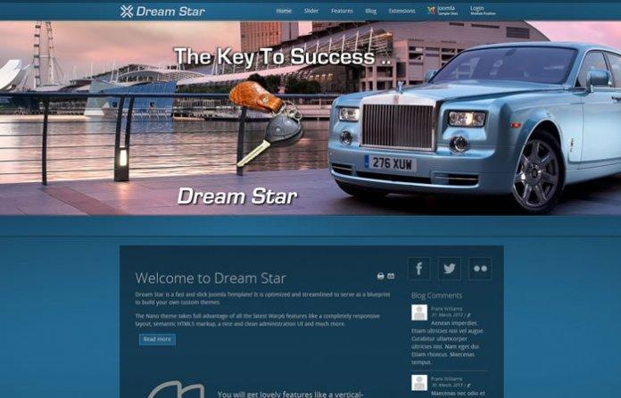 Dreamstar - Responsive Template
