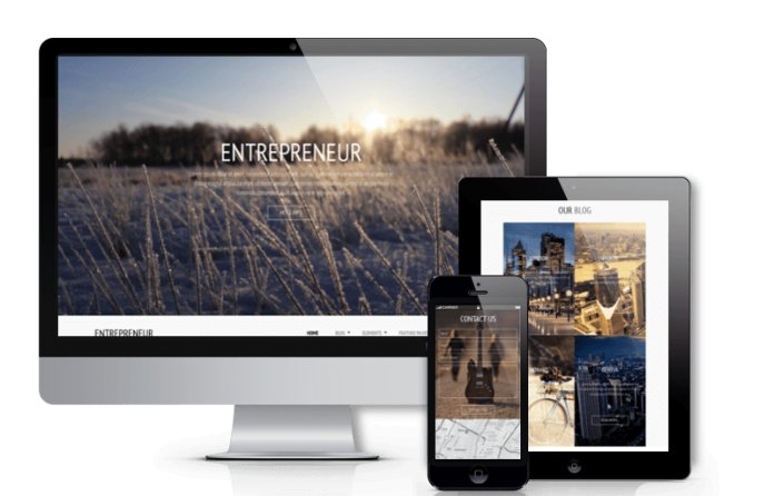 Entrepreneur - Joomla business template