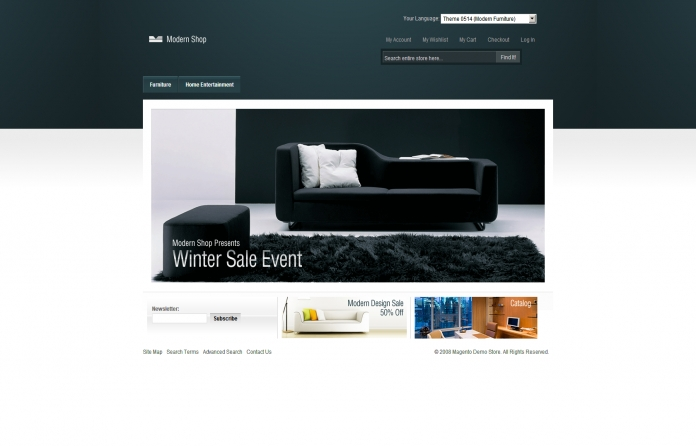 Modern Furniture Theme
