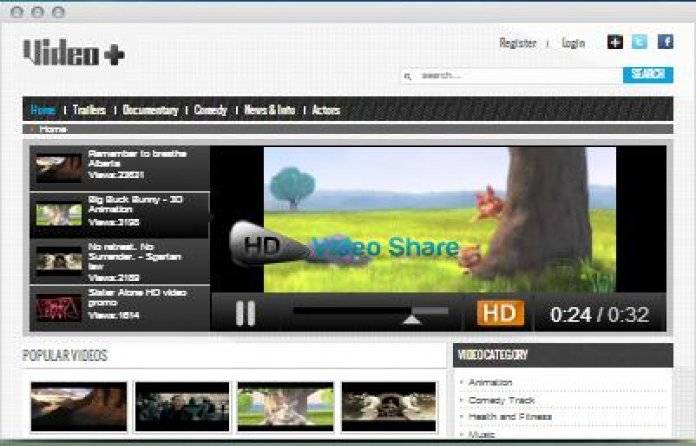 Video Plus Theme