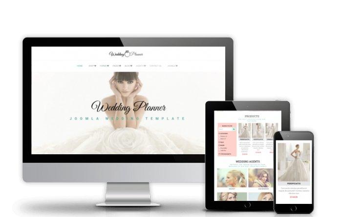 Wedding Planner - Joomla Wedding template