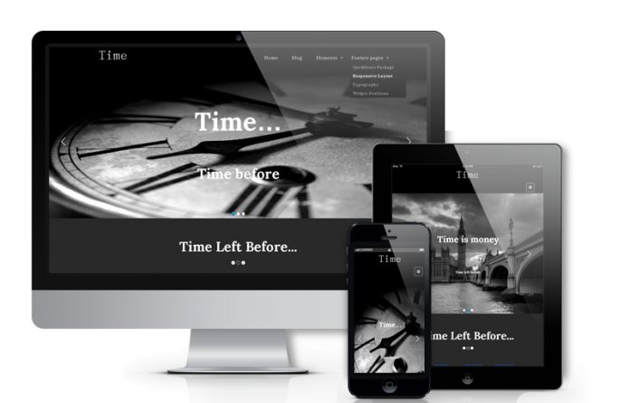 Time - Creative WordPress Theme
