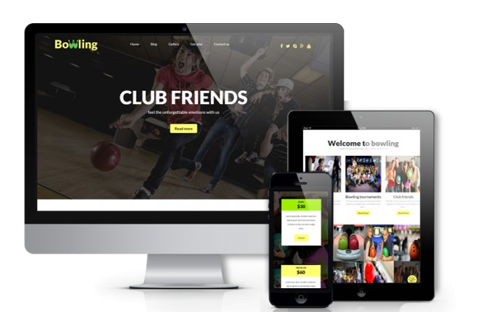 Bowling - Free WordPressTheme