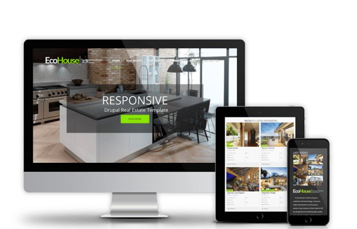 Eco House - Responsive Real Estate Drupal Theme