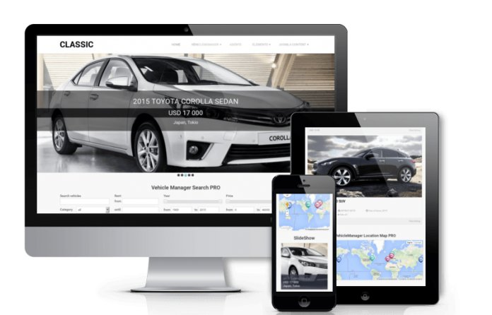 Classic - Car Joomla Template
