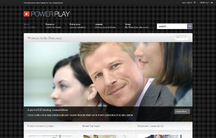 Power play - Powerful Business Joomla template