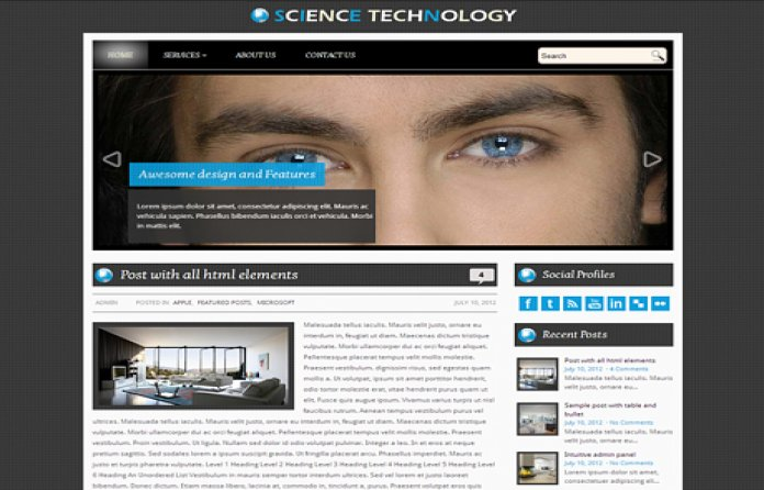 ScienceTechnology Theme