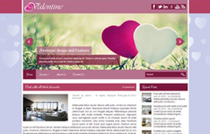 Valentine WordPress Theme