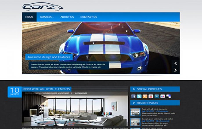 Carz - Auto WP Theme