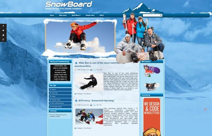 DD SnowBoard 46