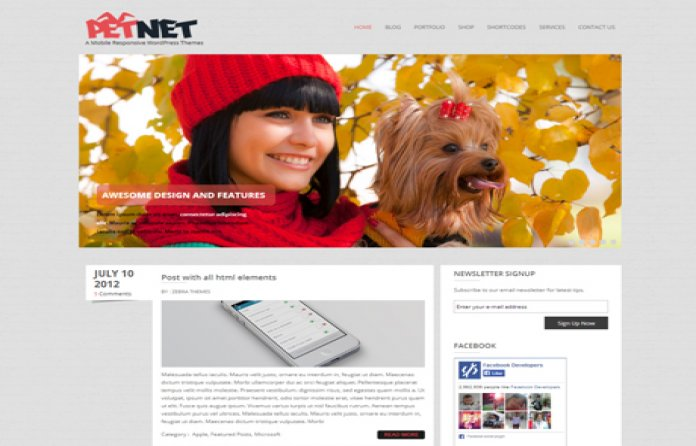 PetNet WP Theme