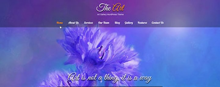 SKT Artists WordPress theme