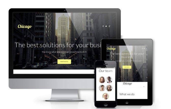 Chicago - Joomla Business Template