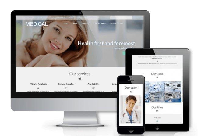 Medical - Healthcare Joomla template