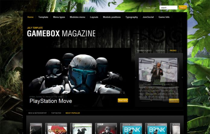 Gamebox Magazine