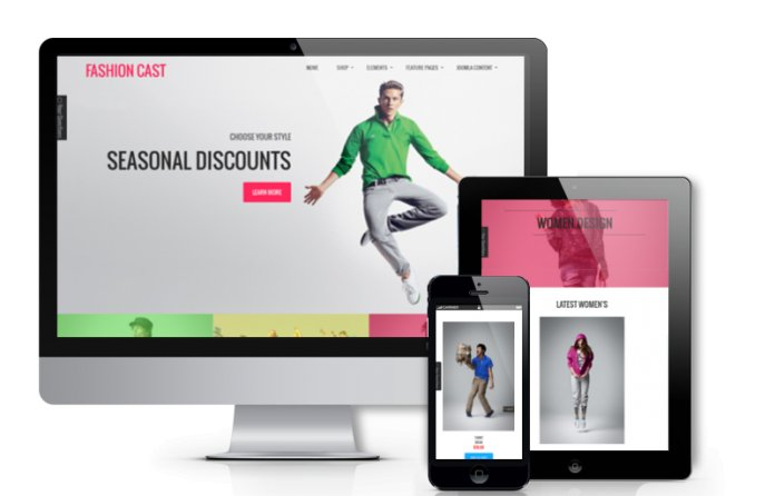 Fashion Cast - Joomla  VirtueMart template