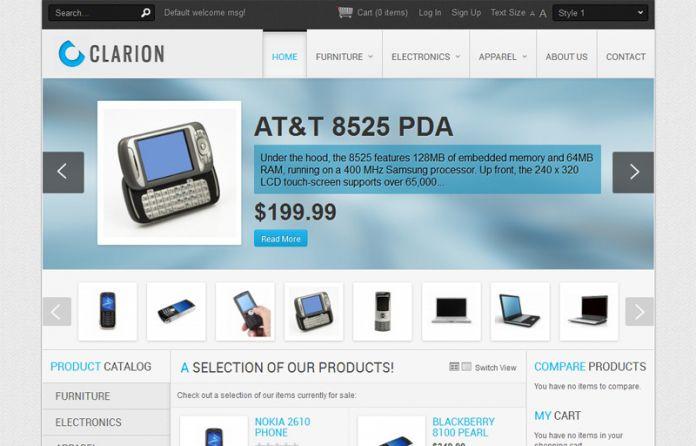 Clarion - Templates - cmsgadget.com - Free and Premium Wordpress ...