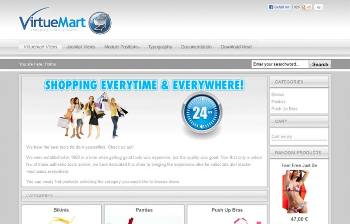 Yagendoo Virtuemart Vision