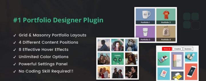 Portfolio Designer Lite – WordPress Plugin