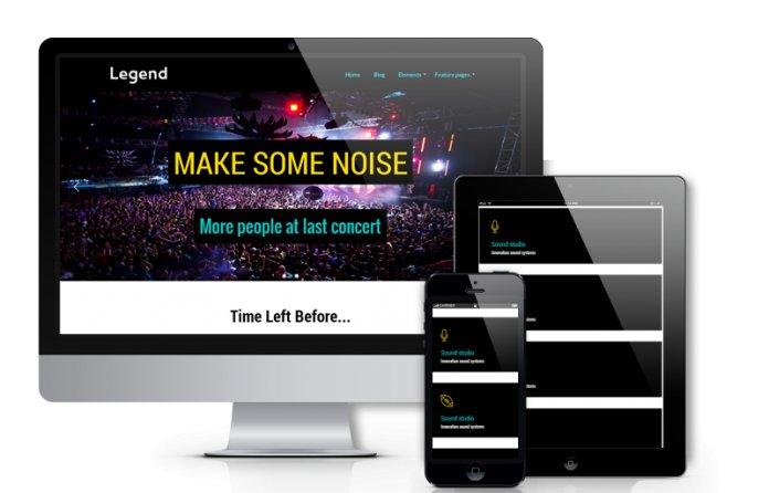 Legend - Joomla Event Template