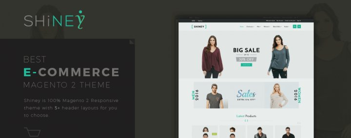 Shiney - Magento 2 ECommerce Theme