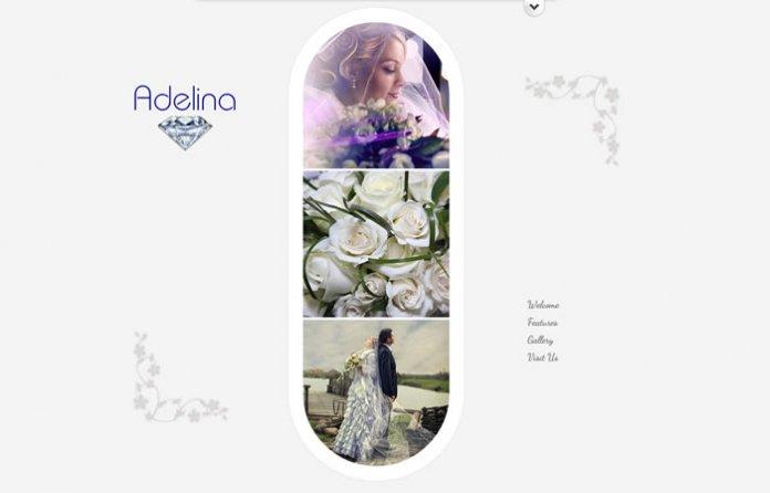Adelina - FREE Responsive Unique Template