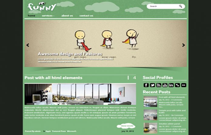 funny wordpress theme templates free and premium