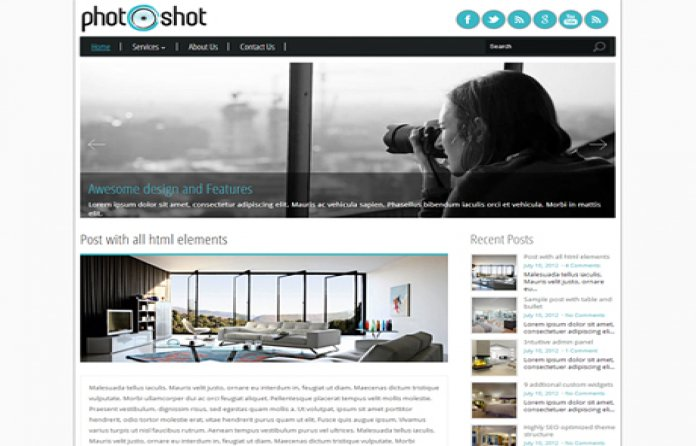 PhotoShot Photography Theme