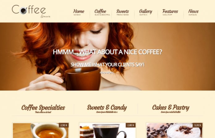 Coffee - Coffe Shop & Barista WordPress Theme