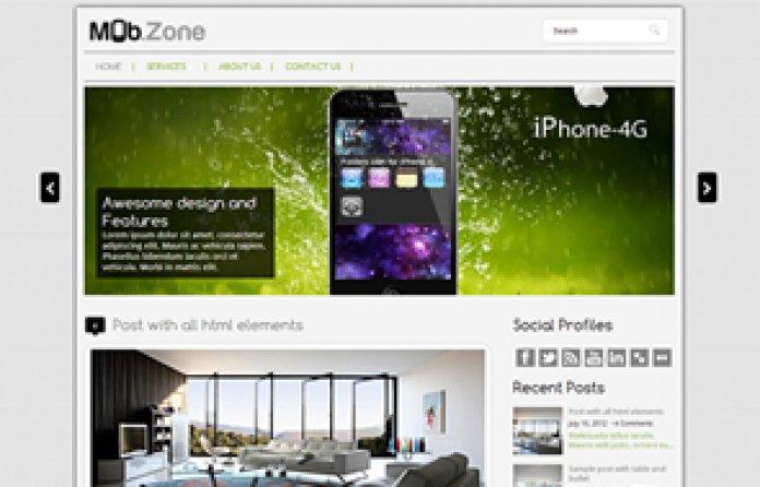 MobZone WordPress Theme