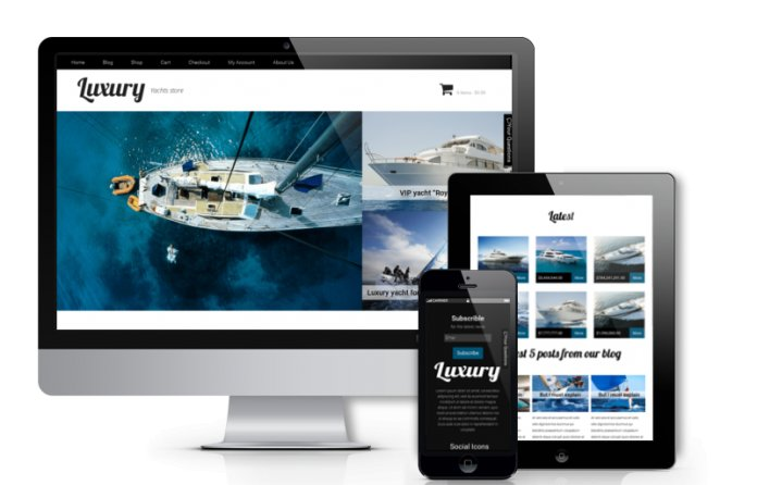 Luxury - WooCommerce  WordPress Theme
