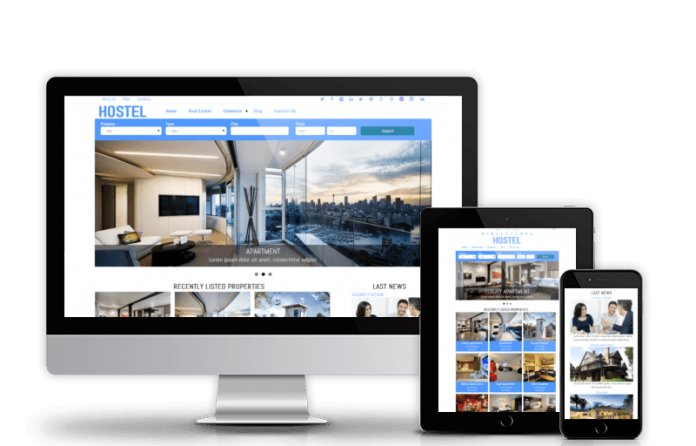 Hostel - Free Drupal Real Estate Theme