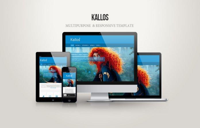 Kallos Multipurpose & Responsive Template