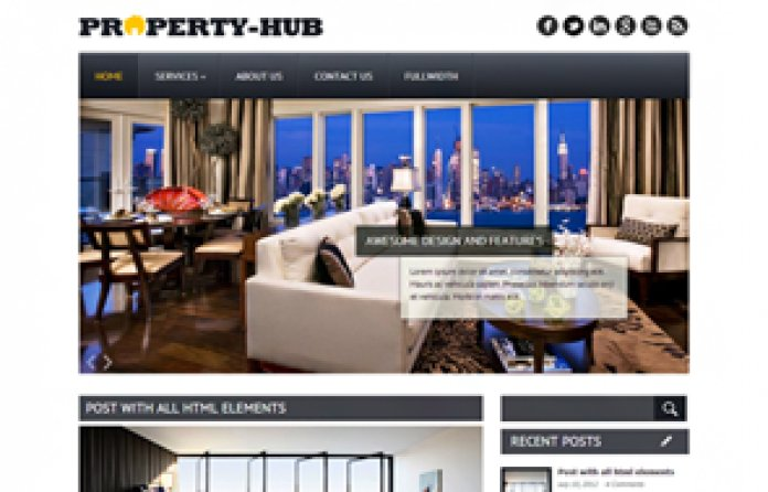 PropertyHub WordPress Theme