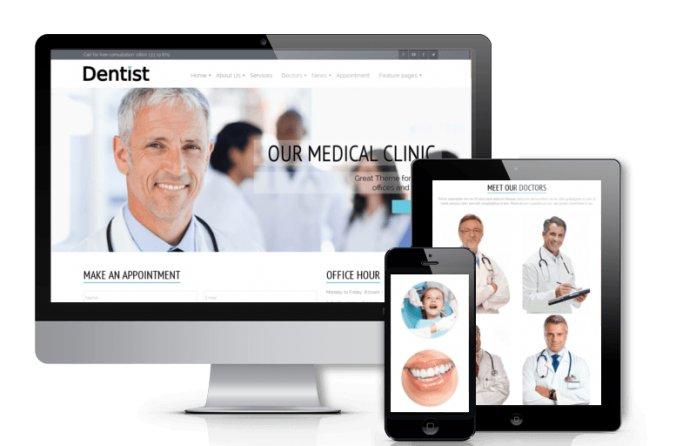 Dentist - Dentistry Joomla Template