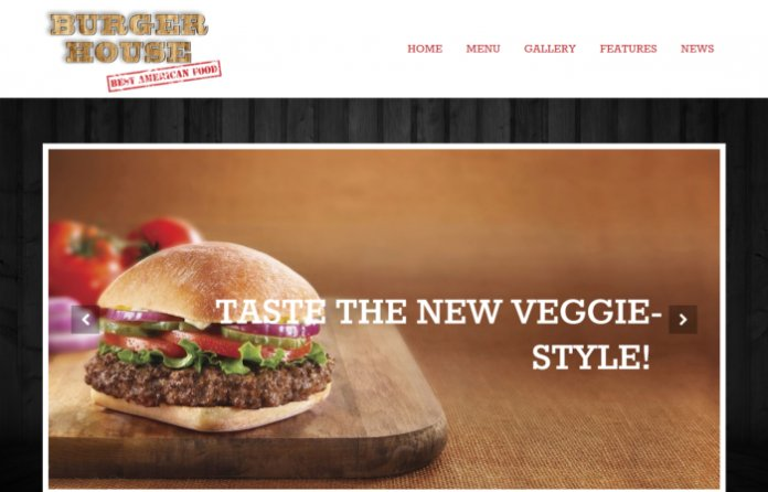 Burgerhouse - Restaurant WordPress Theme