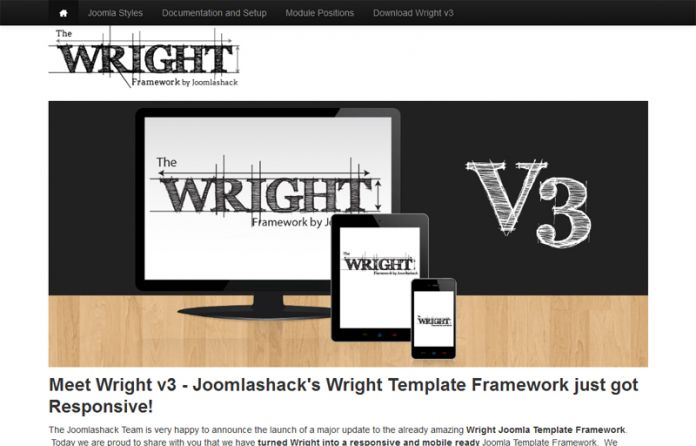 Wright Joomla Template