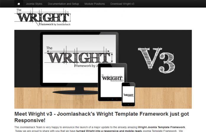 Wright Joomla Template